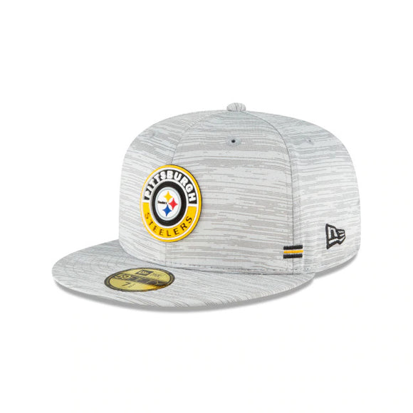 PITTSBURGH STEELERS YOUTH 2020 SIDELINE 59FIFTY FITTED