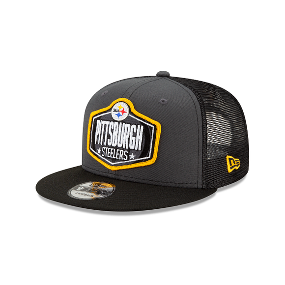 PITTSBURGH STEELERS YOUTH JR 2021 DRAFT 9FIFTY SNAPBACK