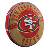 "SAN FRANCISCO 49ERS 15"" CLOUD PILLOW"