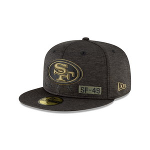 SAN FRANCISCO 49ERS 2020 SALUTE TO SERVICE 59FIFTY FITTED