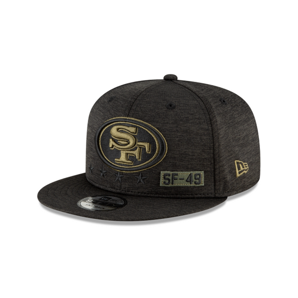 SAN FRANCISCO 49ERS 2020 SALUTE TO SERVICE 9FIFTY SNAPBACK