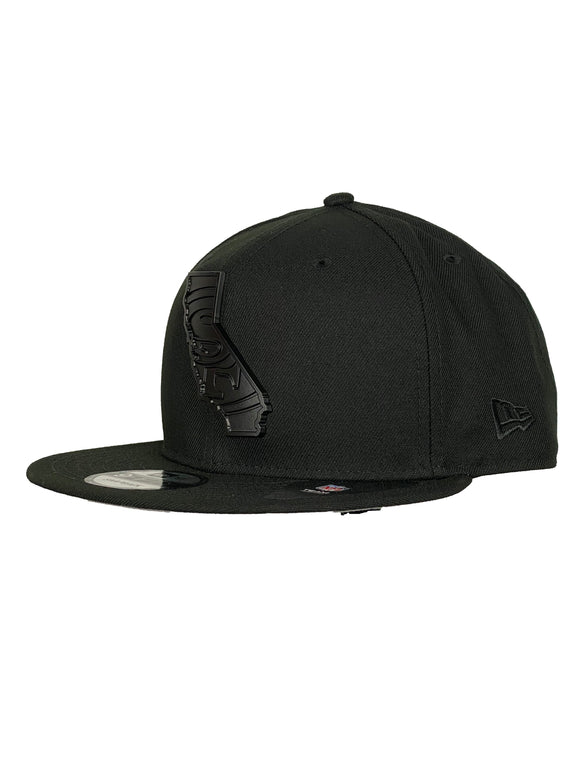 SAN FRANCISCO 49ERS BLACK STATE 9FIFTY SNAPBACK