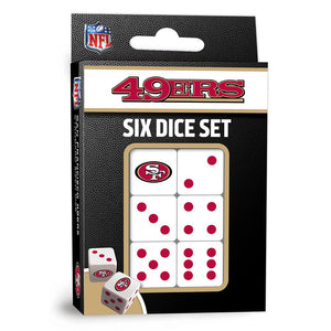 SAN FRANCISCO 49ERS DICE PACK