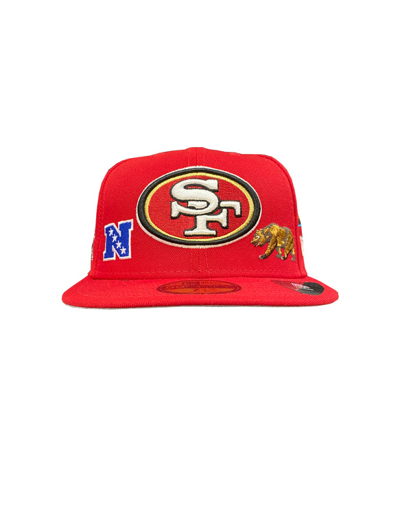 SAN FRANCISCO 49ERS LOCAL 59FIFTY FITTED