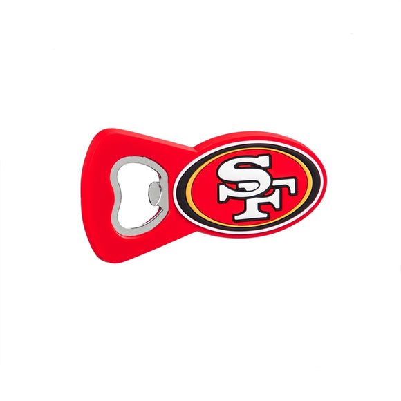 SAN FRANCISCO 49ERS MAGNET BOTTLE OPENER