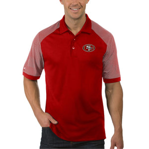 SAN FRANCISCO 49ERS MEN'S ENGAGE POLO