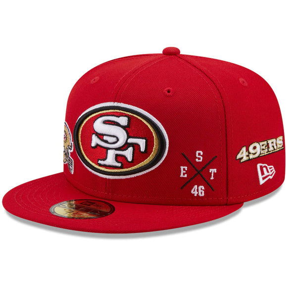 SAN FRANCISCO 49ERS MULTI 59FIFTY FITTED