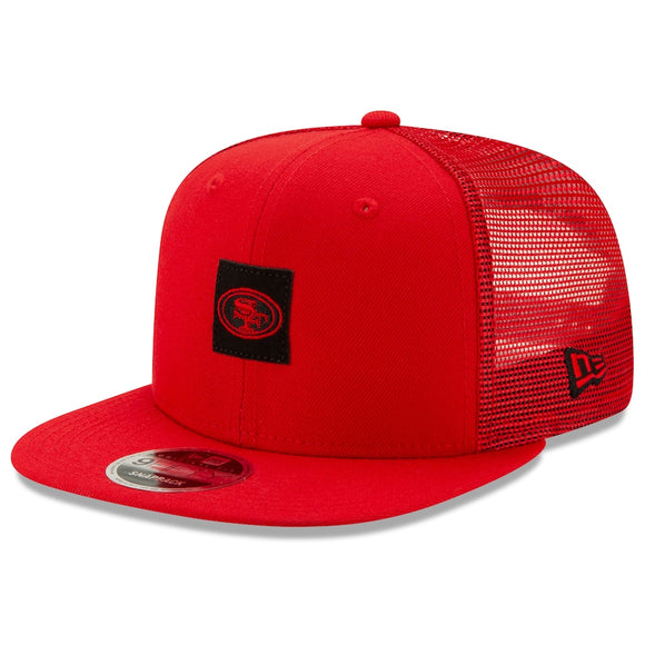 SAN FRANCISCO 49ERS SHANAHAN SQUARE TRUCKER 9FIFTY SNAPBACK