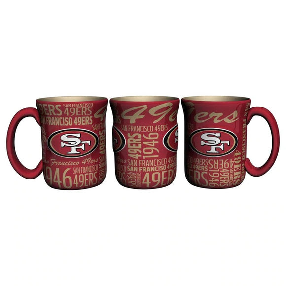 SAN FRANCISCO 49ERS SPIRIT MUG