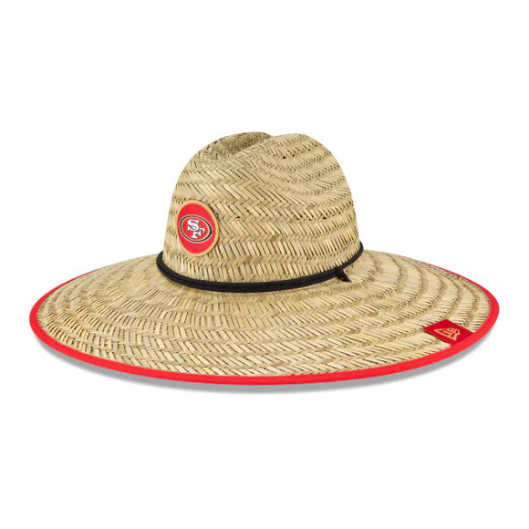 SAN FRANCISCO 49ERS TRAINING STRAW HAT
