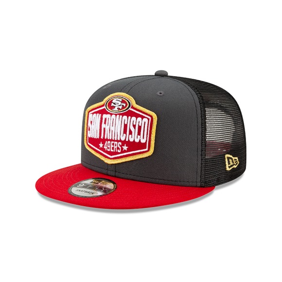 SAN FRANCISCO 49ERS YOUTH JR 2021 DRAFT 9FIFTY SNAPBACK