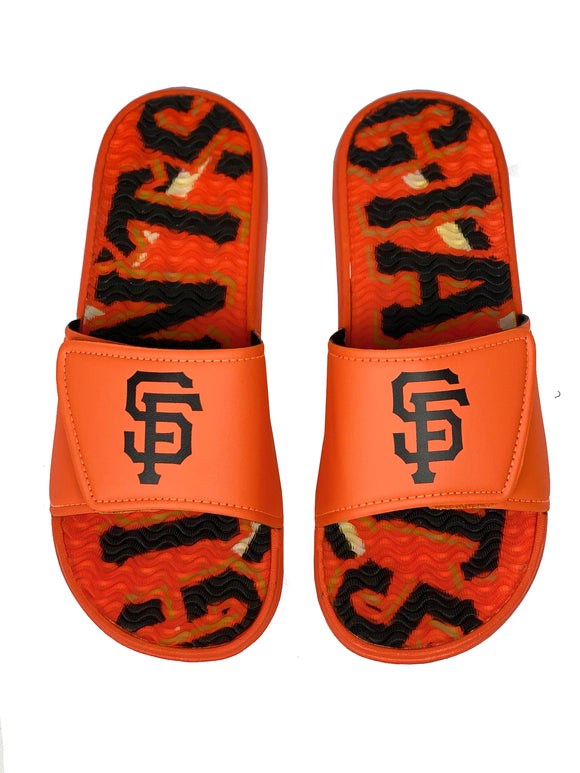 SAN FRANCISCO GIANTS MEN'S  GEL SLIDES