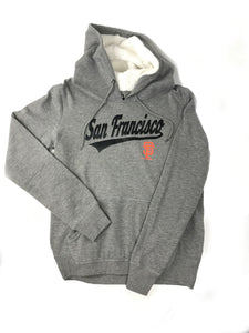 SAN FRANCISCO GIANTS WOMEN'S FOIL CITY NAME HD SWEATER