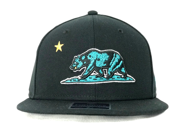 SAN JOSE SHARKS HOMETOWN ROUND FITTED HAT