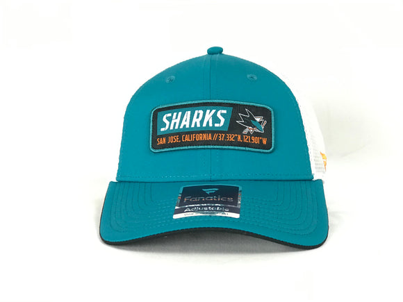 SAN JOSE SHARKS TRUE CLASSIC ADJUSTABLE HAT