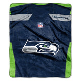 "SEATTLE SEAHAWKS 50""X60"" THROW BLANKET"