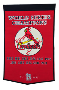 ST.LOUIS CARDINALS DYNASTY BANNER