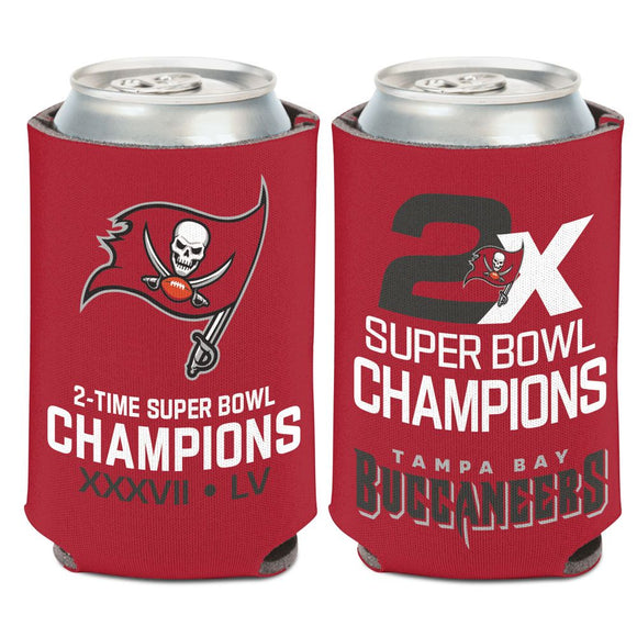 TAMPA BAY BUCCANEERS SUPER BOWL LV CHAMPS CAN COOLER