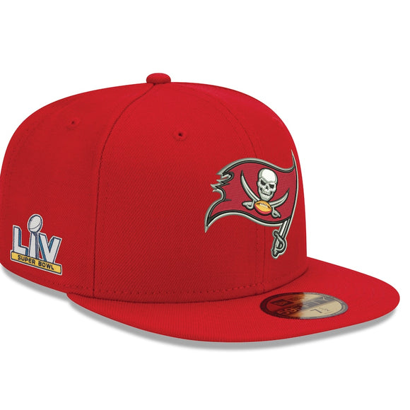 TAMPA BAY BUCCANEERS SUPERBOWL LV SIDE PATCH 59FIFTY FITTED