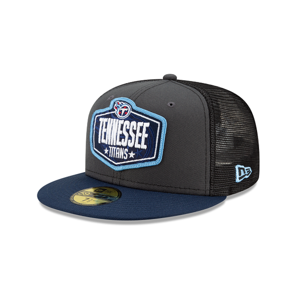 TENNESSEE TITANS 2021 DRAFT 59FIFTY FITTED
