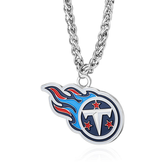 TENNESSEE TITANS TEAM LOGO NECKLACE