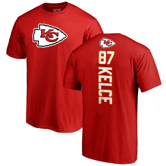 TRAVIS KELCE MEN'S PLAYMAKER NAME NUMBER T-SHIRT