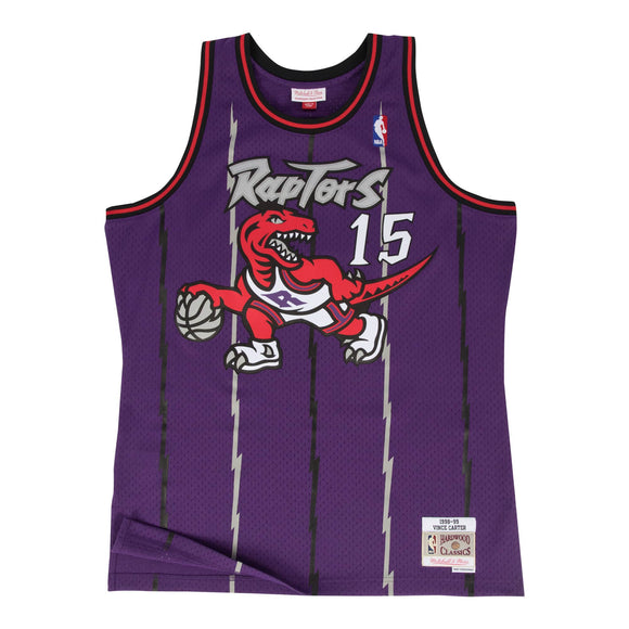 VINCE CARTER MEN'S MITCHELL & NESS 98-99' SWINGMAN JERSEY