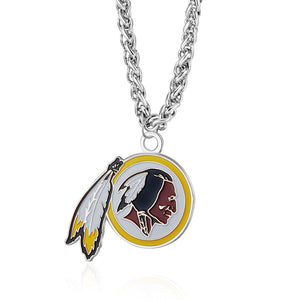 WASHINGTON REDSKINS TEAM LOGO NECKLACE