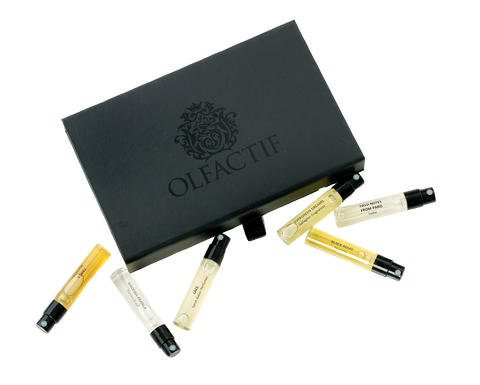 Deluxe Box | Olfactif Niche Fragrance Subscription Box