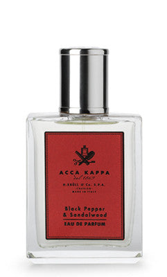 Black Pepper and Sandalwood