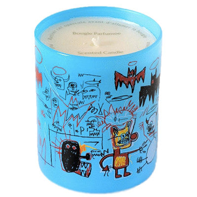 Basquiat Blue Amber-Woods Candle