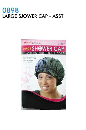 Magic Gold Large Shower Cap
