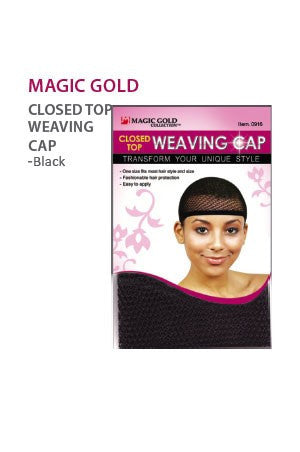 Magic Gold Closed Top Weaving Cap