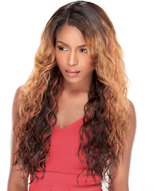 Front Lace Wig Edge 2-Way L-Part Nancy, Lace Front Wig