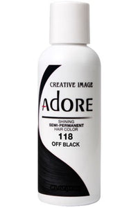 Adore Hair Color #118 Off Black