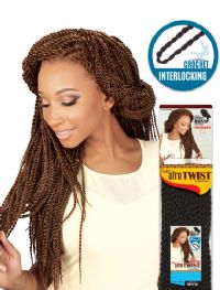 "Cairo Afro Twist Large 20"", Synthetic Braids"