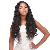 "Peruvian Loose Deep 6 pieces, Natural Hair (Bundle  2*20"", 2*22"", 2*24"")"