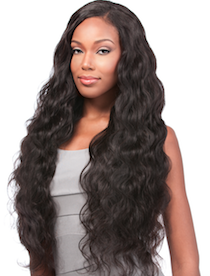 "Brazilian Natural Body 6 pieces , Natural Hair (Bundle 2*14"", 2*16"", 2*18"")"