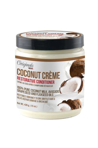 Africas Best Coconut Creme Restorative Conditioner 15oz