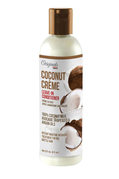 Africas Best Coconut Creme Leave-In Conditioner 8oz