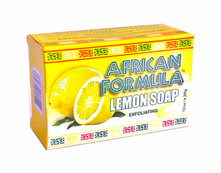 African Formula Exfoliating Lemon Soap 7 oz / 200g