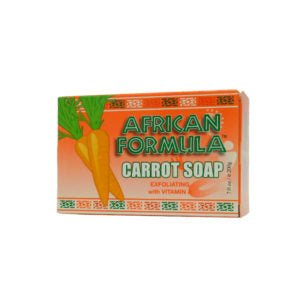 African Formula Carrot Soap with Vitamin A  7 oz / 200g