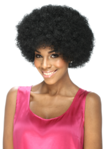 Afro Puffy Draw Large, Ponytail