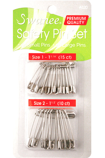 Swanee Safety Pin Set  (25pc)