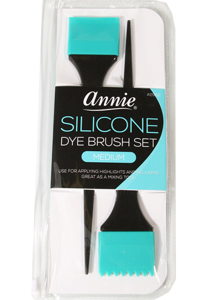 Silicone Dye Brush Set Medium (2pc)