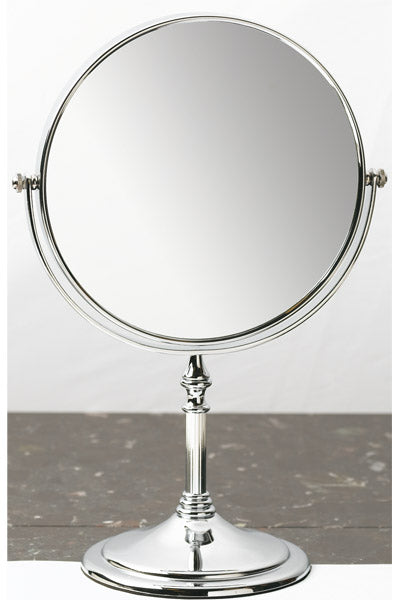 Annie Chrome Plated Stand Mirror