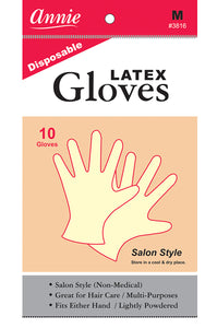 Disposable Latex Gloves #Medium