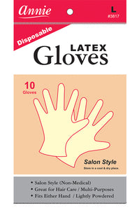 Disposable Latex Gloves #Large
