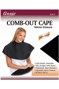 Comb-Out Cape Velcro Closure