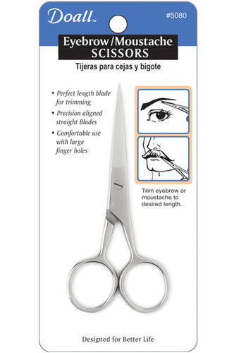 Almine Eyebrow and Moustache Scissors